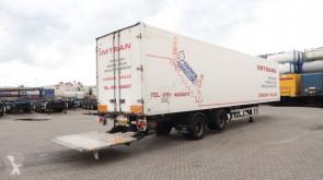 Yarı römork Fruehauf Laadklep (2.000kg), TRIDEC, liftas, NL-trailer, APK t/m 16/10/2020 ikinci el araç