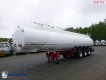 Indox Fuel tank alu 40.6 m3 / 6 comp semi-trailer used tanker