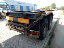 Semi remorque porte containers Van Hool 20 FT chassis / BPW axles / air suspension