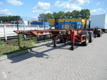 Semi remorque Craven Tasker 20 FT chassis / steel suspension / ROR porte containers occasion