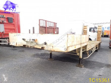 Samro Low-bed semi-trailer used heavy equipment transport