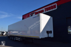 Lecitrailer box semi-trailer FOURGON PLYWOOD + RIDEAU AR