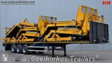 Burg BPDO 12.27 semi-trailer used flatbed