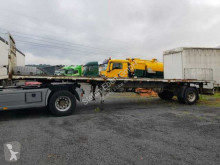 Ackermann Fruehauf PS 10/10.5 ZL Pritsche/Plattform semi-trailer used dropside flatbed