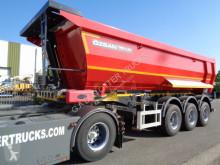 Tipper semi-trailer 25m3 2X Liftachse