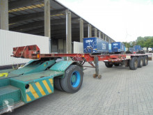 Semitrailer Pacton TXC 339 S containertransport begagnad