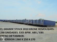 semi remorque rideaux coulissants (plsc) Krone