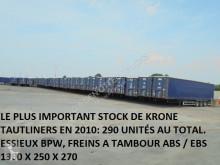 semi remorque Krone TUX XXL