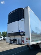 Chereau 2 ESSIEUX TOP CONDITION semi-trailer used mono temperature refrigerated