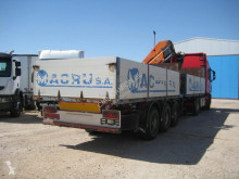 Fruehauf T 34 C semi-trailer used flatbed
