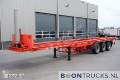 Semi remorque porte containers Pacton 3139-C-4-K | 20-30-40ft TIPPER * STEEL SUSPENSION