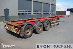 Semi remorque porte containers HFR SB24 | 20-40-45ft HC * EXTENDABLE REAR *