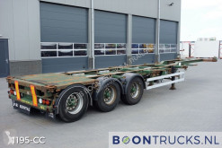 Semi remorque porte containers HFR SB24 | 20-30-40-45ft HC * EXTENDABLE REAR *