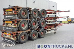 Trailer HFR SB24 - STACK PRICE EUR 10500 | 20-30-40-45ft HC * EXTENDABLE REAR * tweedehands containersysteem