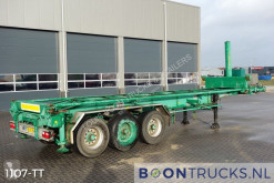 Van Hool container semi-trailer SK305 | 30ft Tipping * STEEL SUSPENSION *
