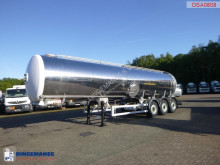 Magyar Food tank inox 30 m3 / 1 comp semi-trailer used food tanker