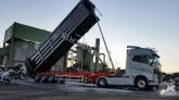 Ozmen scrap dumper semi-trailer