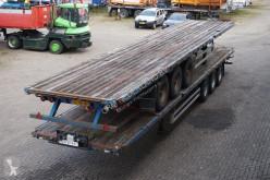 Pacton Flatbed BPW eco plus / Drum brakes semi-trailer