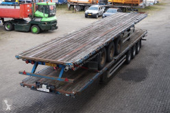 Pacton Flatbed BPW eco plus / Drum brakes semi-trailer