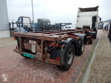 Craven Tasker 20 FT chassis / Steel suspension / BPW axles semi-trailer used container