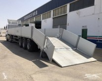 Guillen heavy equipment transport semi-trailer Rampas extensibles