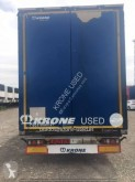 Semi reboque caixa aberta com lona Krone Mega Liner LONA