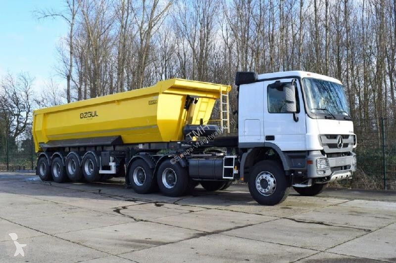 View images Ozgul ozgül - 4 axle 35 cbm semi-trailer