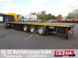 Nc Es-ge 3-Achs-Sattelanhänger semi-trailer used flatbed