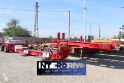 Bertoja carrellone culla allungabile 2 assi semi-trailer used heavy equipment transport
