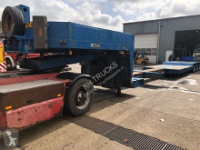 Nicolas heavy equipment transport semi-trailer 3AS EXTANDABLE TOTAAL 19M