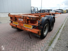 Krone 20 FT chassis / Steel suspension / Double montage semi-trailer used container