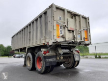 Stas Alu semi-trailer used construction dump