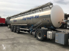 Van Hool OPLEGGER TANK IN INOX 30000 L - 4 COMP semi-trailer used food tanker