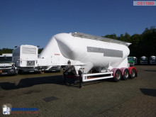 Semi reboque cisterna Spitzer Powder tank alu 34 m3 / 1 comp + engine/compressor