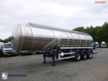 Magyar Fuel tank inox 35.3 m3 / 3 comp + pump / ADR 04/2020 semi-trailer used tanker