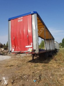 Lecitrailer TAUTLINER damaged other semi-trailers