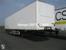 Chereau FG TD CD383JA semi-trailer used box