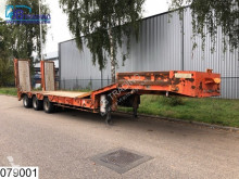 Fournier Lowbed 45000 KG, Steel suspension, Winch, Lowbed, B 2,55 + 2x 0,25 mtr semi-trailer