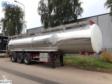 BSL tanker semi-trailer Food 33315 Liter, Isolated, 5 Compartments, Food, nourr