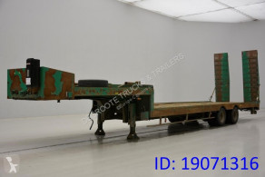 ACTM Low bed trailer semi-trailer used heavy equipment transport