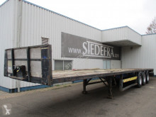 Flatbed semi-trailer Mannion Athlone , 3 ROR Axle , Air Suspension