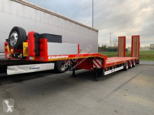 Kässbohrer heavy equipment transport semi-trailer K.SLA 3 essieux extensible
