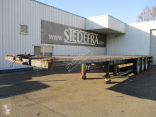 SDC 0165 Trailer , 3 ROR axle semi-trailer used flatbed