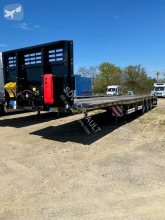 Kässbohrer flatbed semi-trailer SPAM PLATEAU BAS EXTENSIBLE