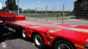 Kässbohrer heavy equipment transport semi-trailer SLS Porte-engin fixe