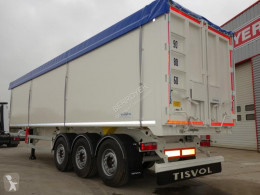 Tisvol Aluminium semi-trailer new cereal tipper