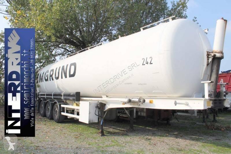 Voir les photos Semi remorque Benalu semirimorchio silos ribaltabile 62000 litri
