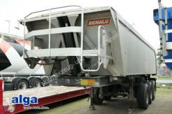 Benalu DA 24/78, Alu, 3-Achser, Podest, 25m³, Luft semi-trailer