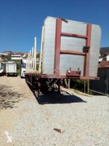 semi reboque transporte de madeira Feac