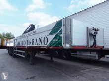 Acerbi semi-trailer used dropside flatbed